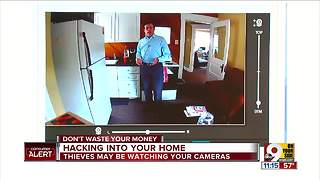 Hackers may be watching your home video cameras - Video