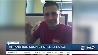 Hit and run suspect still at large