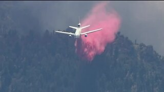 Fire crews still fighting the 'Apple Fire' in CA