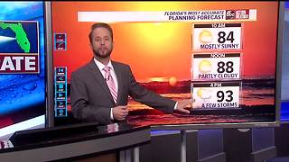 Florida's Most Accurate Forecast with Jason on Saturday, September 1, 2018