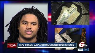 IMPD arrests suspected drug dealer from Chicago - Video
