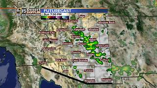 Storm chances remain throughout the weekend