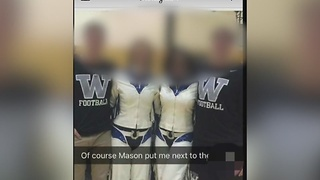 Student post racial slur about Colts Cheerleader - Video