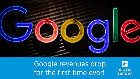 Google revenues drop for the first time ever!