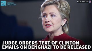 Judge Orders Text Of Clinton Emails On Benghazi To Be Released - Video