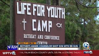Mother angry over BB gun wound at summer camp - Video