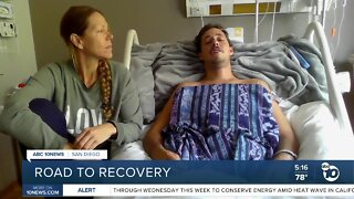 Local man's trip to Bali takes unexpected turn after crash