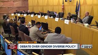 UPDATE: School board moves forward with gender diversity policy - Video