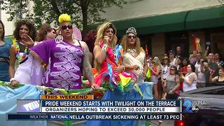 Pride weekend starts with Twilight On the Terrace - Video