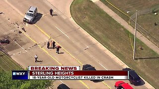 18-year-old dies in fatal motorcycle accident in Sterling Heights