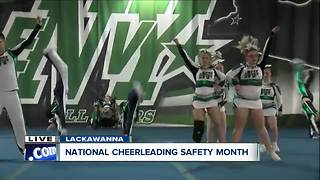 Buffalo Envy's adaptive cheer program