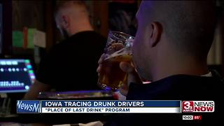 Iowa adopts program to trace drunk drivers - Video