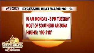 First Warning Weather Friday July 20, 2018 - Video