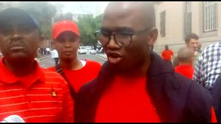 Eight anti-Zuma activists released on bail by Cape Town court (3jv)