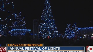 Cincinnati Zoo's Festival of Lights kicks off - Video