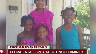 Report: Flora fatal fire cause undetermined - Video