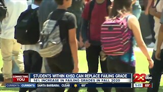 KHSD students granted second chance to replace failing grades
