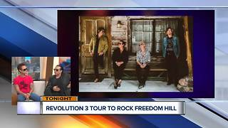 Revolution 3 Tour to rock Freedom Hill tonight - Video