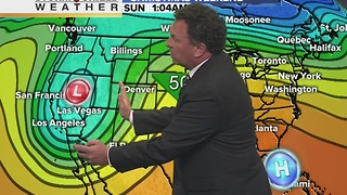 Dec 20th 6pm Weather - Video