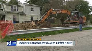 New housing program gives families better future