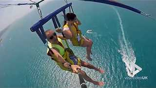 Parasailing Fail - Video