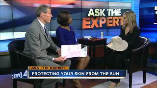 Ask the Expert: Skin protection in the sun - Video