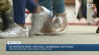 Appleton school board approves plan for a return to class