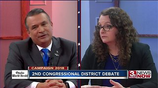 Midterms 2018: Bacon, Eastman debate defense - Video