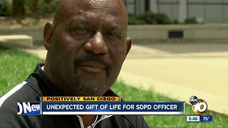 Unexpected gift of life for San Diego Police officer