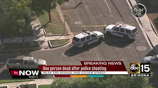 Man dead in Phoenix officer-involved shooting - Video