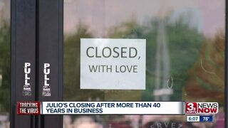 Julio's Closing After More Than 40 Years in Business