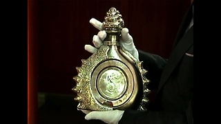 3.5 Million Dollar Tequila Bottle - Video
