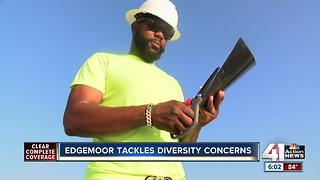 Edgemoor discusses diversity concerns - Video