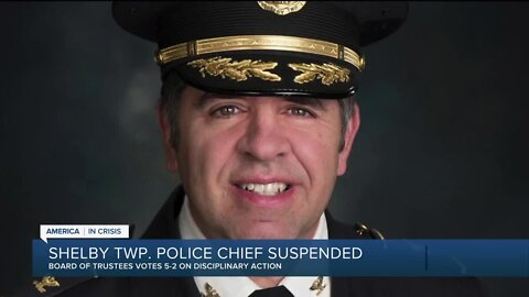 Shelby Twp. police chief suspended