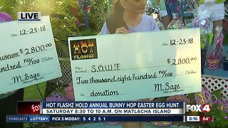 Hot Flashz hold eighth annual bunny hop easter egg hunt