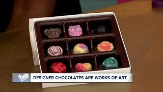 Chocolatier whipping up edible gems - Video