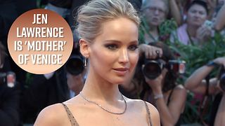 Jennifer Lawrence talks fame and selfies in Venice - Video