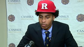 Paul Woods signs with Rutgers - Video