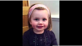 Baby Learns How To Speak, But Can't Quite Get It Right - Video