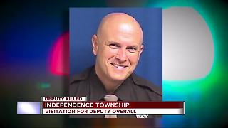 Visitation, service announced for fallen Oakland County deputy - Video