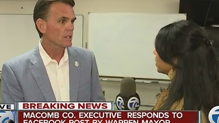 Mark Hackel says water is safe