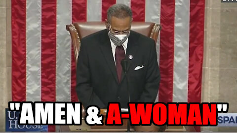 """Democrats End Prayer with """"A-Woman"""" While pushing to Exclude Gender Specific Terms"""