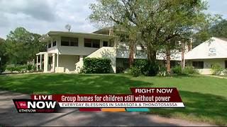 Group homes for children still without power - Video