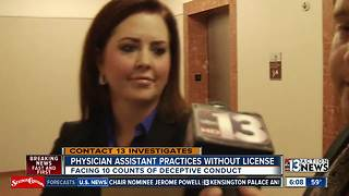 Prescribing drugs, performing surgery alleged