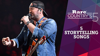 Five Storytelling Songs | Rare Country's 5 - Video