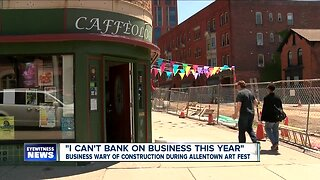 Businesses wary of construction during Allentown Art Festival