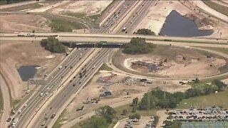 How long will construction on I-95 in Palm Beach County last?