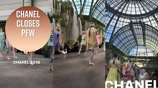 Kaia Gerber opens her first Chanel Paris Fashion show - Video