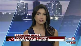 Police involved shooting in Fort Myers - Video