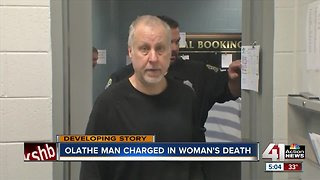 Olathe man accused of killing his mother appears in court